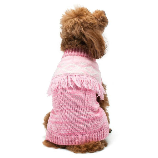 Boho Fringe Dog Sweater, Pet Clothes, Furbabeez, [tag]