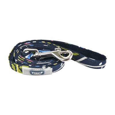 Botanical Lead Collars and Leads Puppia Medium Navy