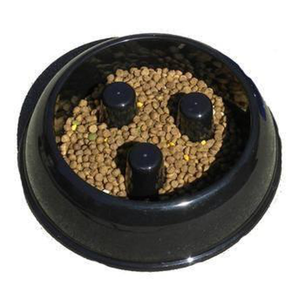 Slow Eat Dog Bowl - Plastic, Pet Bowls, Pet Retail Supply, Furbabeez