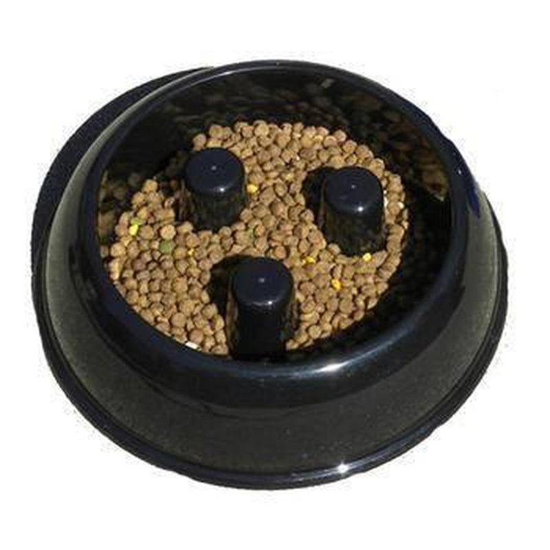 Brake-Fast Slow Chow Dog Bowl - Plastic, Pet Bowls, Furbabeez, [tag]