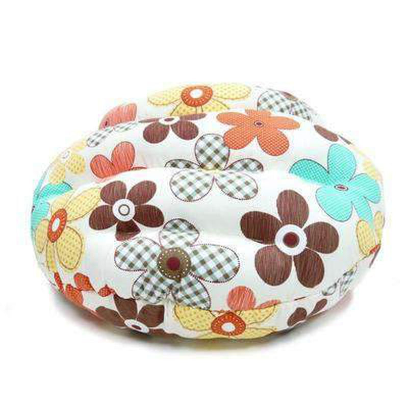 Burger Bed Color Flower, Pet Bed, Furbabeez, [tag]