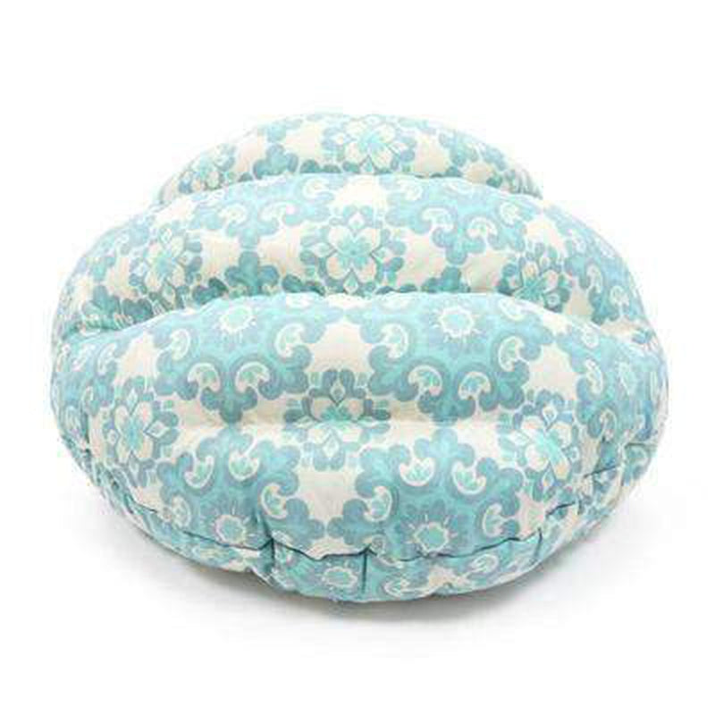 Burger Bed Blue Flake, Pet Bed, Furbabeez, [tag]