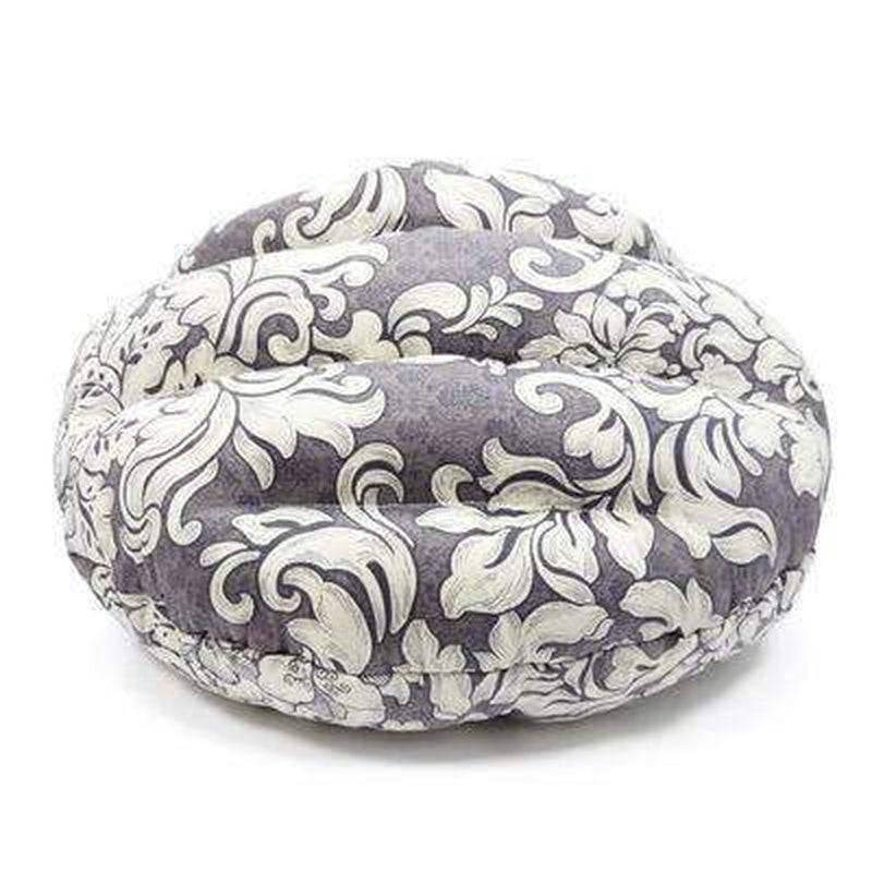 Burger Bed Gray Vintage, Pet Bed, Furbabeez, [tag]