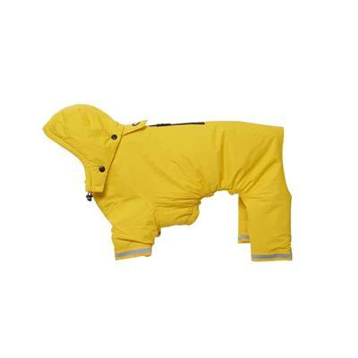 BUSTER Aqua Dog Raincoat Pet Clothes Kruuse Yellow XX-Small