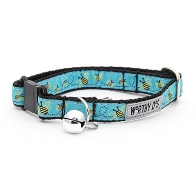 Busy Bee Cat Collar Collars and Leads Worthy Dog