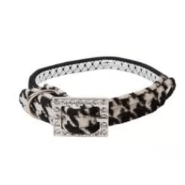 Buttons Cat Collar by Catspia Collars and Leads Catspia Brown