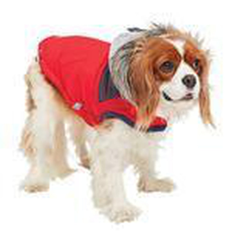 Cabin Elasto-fit Dog Jacket - Red, Pet Clothes, Furbabeez, [tag]