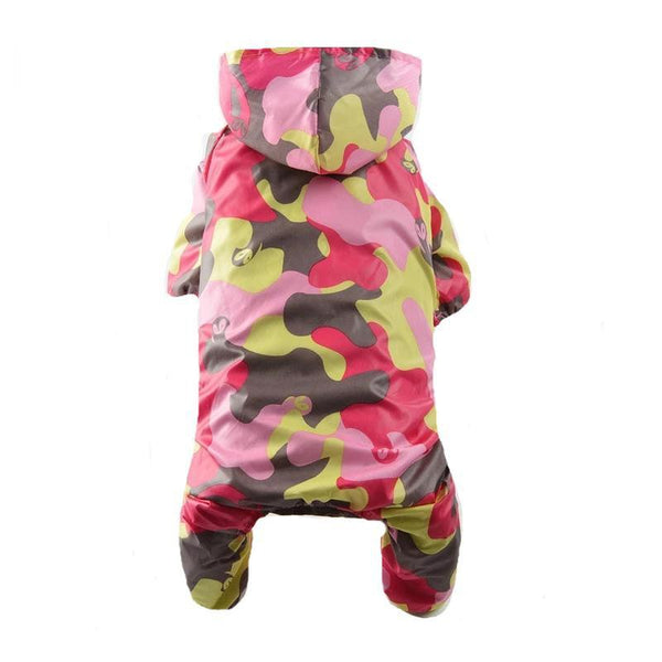 Camouflage Dog Raincoat, Pet Clothes, Furbabeez, [tag]