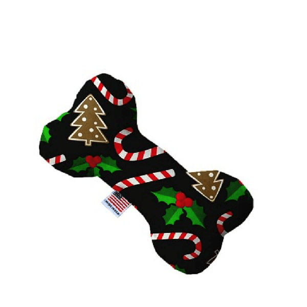 Candy Cane Chaos Bone Dog Toy, Pet Toys, Furbabeez, [tag]