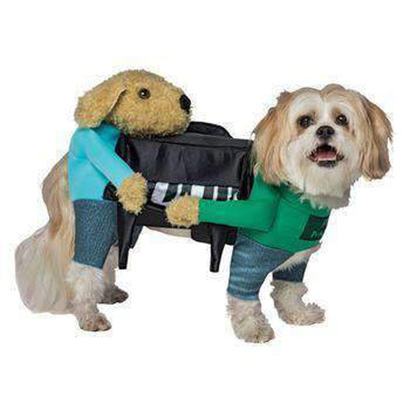 Carrying Piano Dog Costume, Pet Clothes, Furbabeez, [tag]