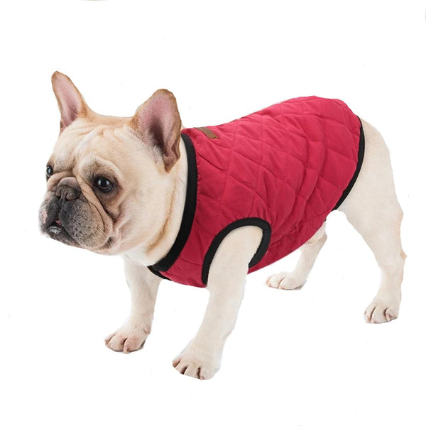 Casual Quilted Dog Vest, Pet Clothes, Furbabeez, [tag]