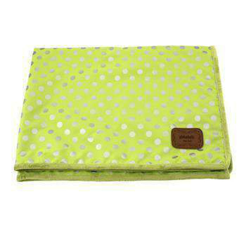 Chic Dog Blanket by Pinkaholic - Lime, Pet Bed, Furbabeez, [tag]