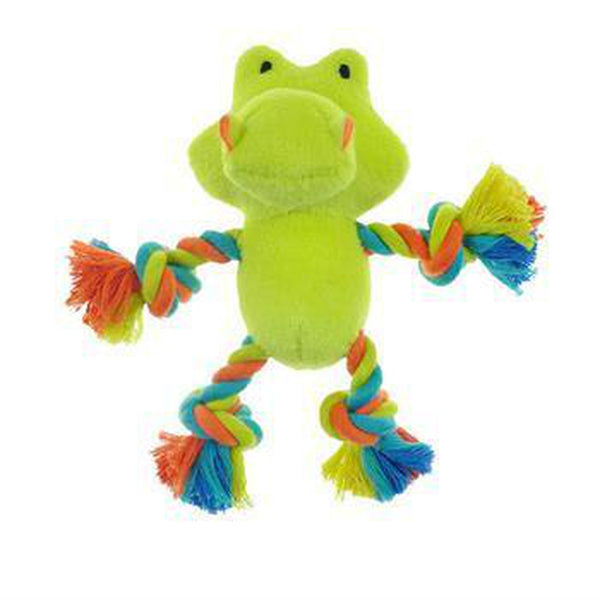 Chomper Mini Safari Tug Me Dog Toy - Gator Pet Toys Pet Edge