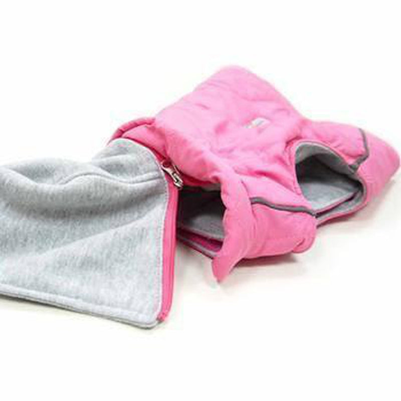City Puffer Dog Jacket - Pink, Pet Clothes, Furbabeez, [tag]