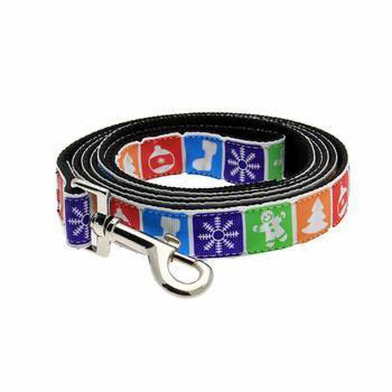 Classic Nylon Christmas Dog Collar & Leash, Collars and Leads, Furbabeez, [tag]