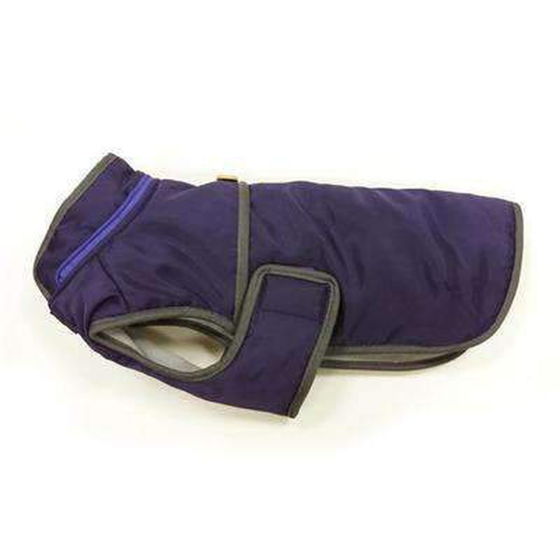 Classic Trench Dog Coat - Purple, Pet Clothes, Furbabeez, [tag]