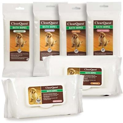 Clear Quest™ Bath Wipes Pet Accessories ClearQuest