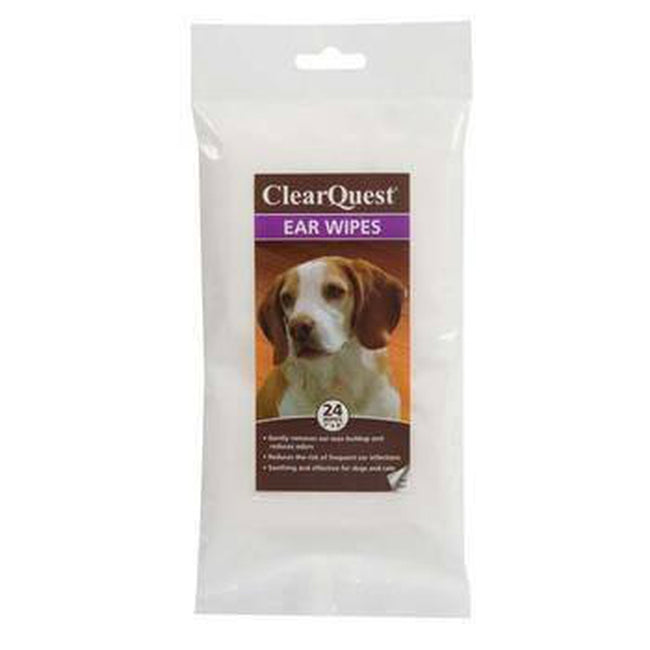 ClearQuest Pet Ear Wipes, Pet Accessories, Pet Retail Supply, Furbabeez
