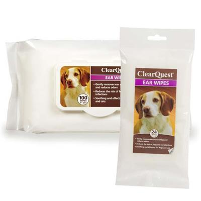 ClearQuest Pet Ear Wipes Pet Accessories ClearQuest