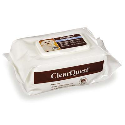 ClearQuest Pet Eye Wipes Pet Accessories ClearQuest 100 Pack