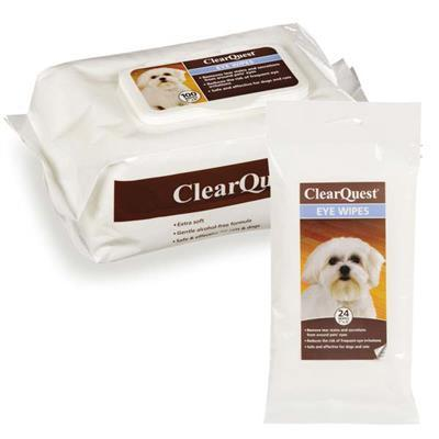 ClearQuest Pet Eye Wipes Pet Accessories ClearQuest