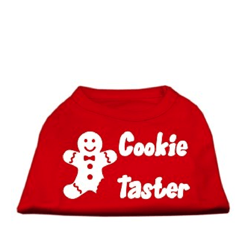 Cookie Taster Christmas Dog T-Shirt Pet Clothes Mirage