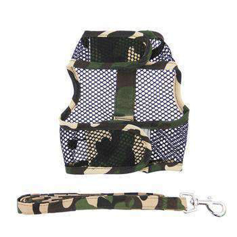 Cool Mesh Dog Harness - Green Camouflage, Collars and Leads, Furbabeez, [tag]