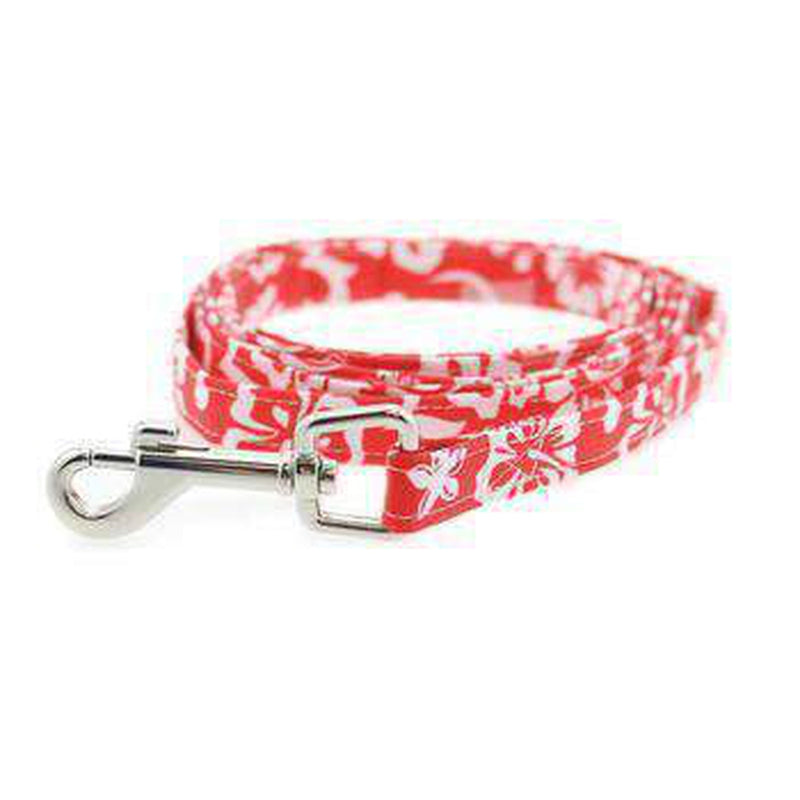 Cool Mesh Dog Harness - Hawaiian Hibiscus Red, Collars and Leads, Furbabeez, [tag]