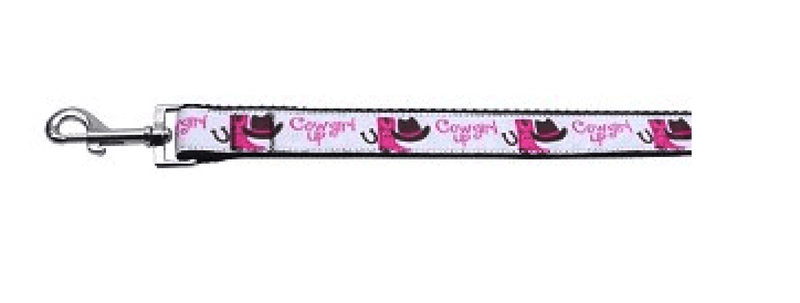 Cowgirl Up Dog Collar & Leash Collars and Leads Mirage 4 foot Leash