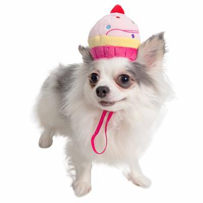 Cupcake Dog Hat Costume Pet Accessories Pet Krewe