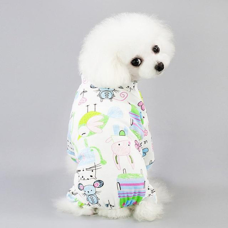 Cute Fashion Dog Pajamas, Pet Clothes, Furbabeez, [tag]