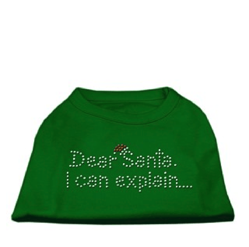 Dear Santa I Can Explain Dog T-Shirt, Pet Clothes, Furbabeez, [tag]