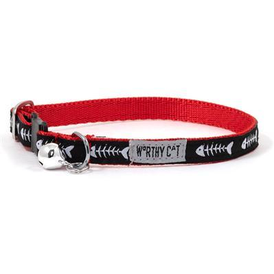 Dinner Fish Bone Cat Collar Collars and Leads Worthy Dog
