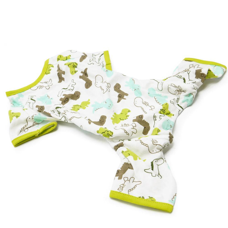 Dino Dream Dog Pajamas, Pet Clothes, Furbabeez, [tag]