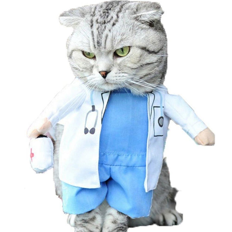 Dog Doctor Costume, Pet Clothes, Furbabeez, [tag]