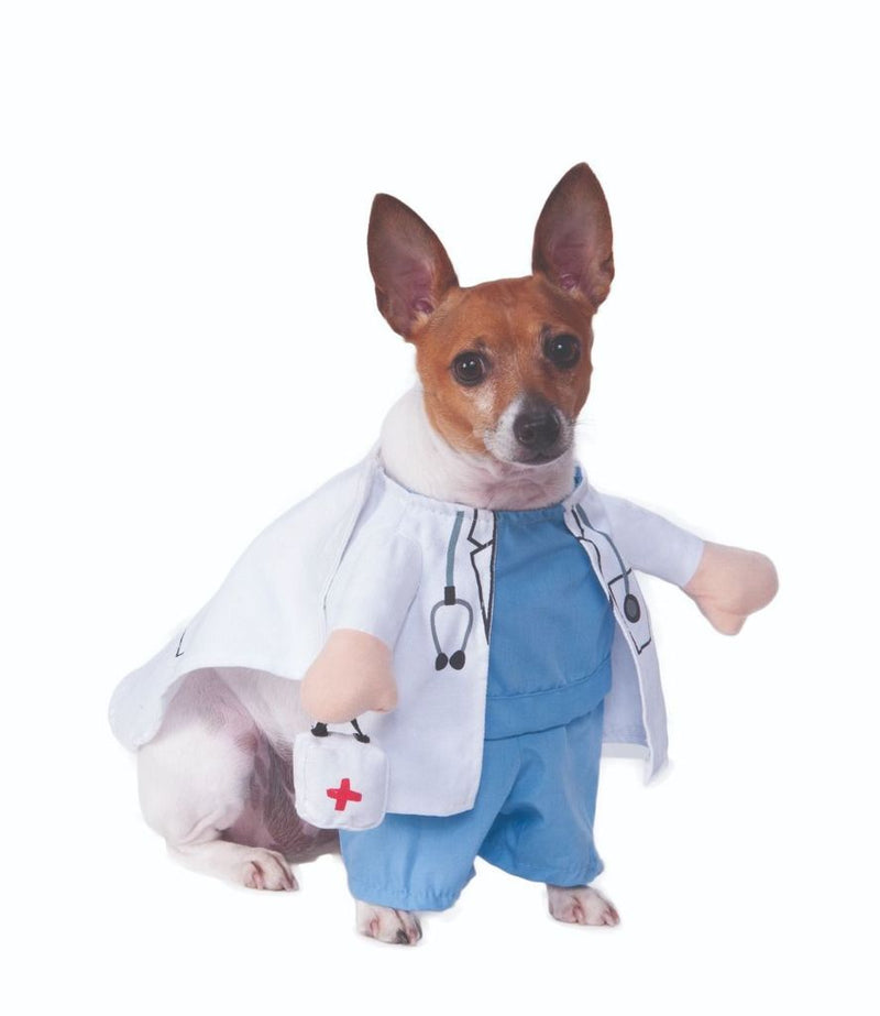 Dog Doctor Costume Pet Clothes Oberlo