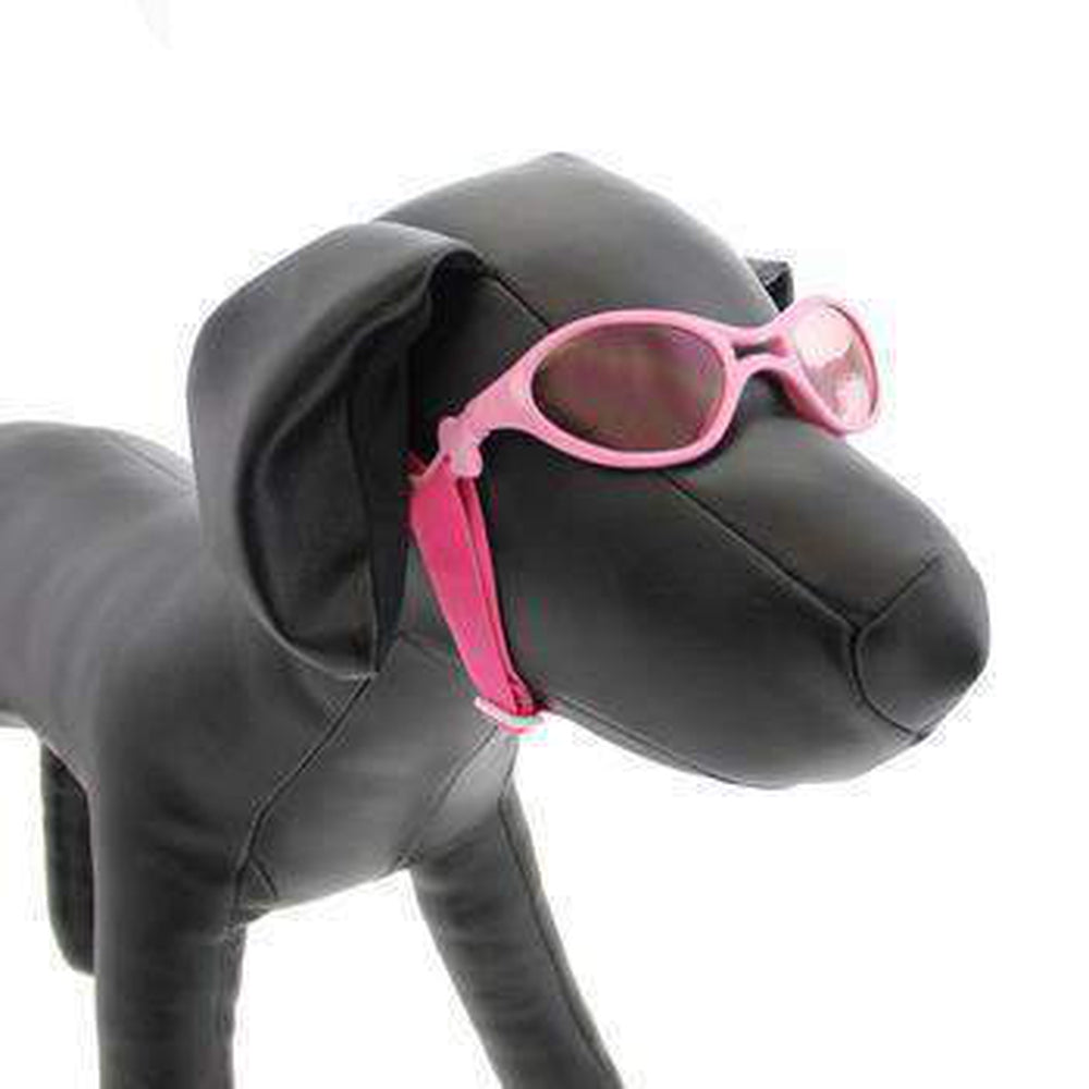 Doggles - K9 Optix Rubber Sunglasses for Dogs - Shiny Pink with Pink Lenses, Pet Accessories, Furbabeez, [tag]