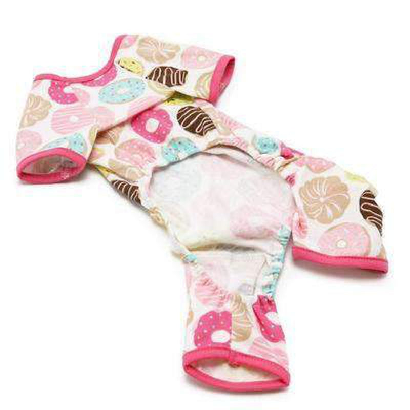 Donut Print Pajamas, Pet Clothes, Furbabeez, [tag]