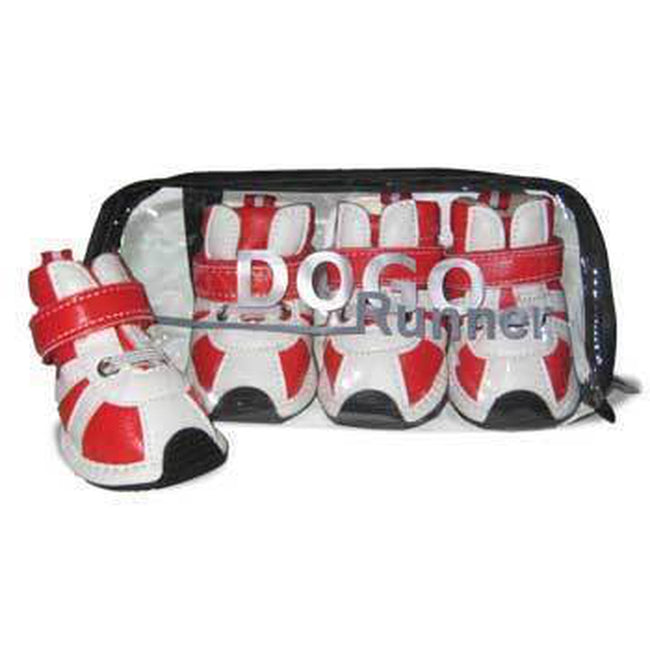 Runner Dog Sneakers by Dogo - Red, Pet Clothes, Furbabeez, [tag]