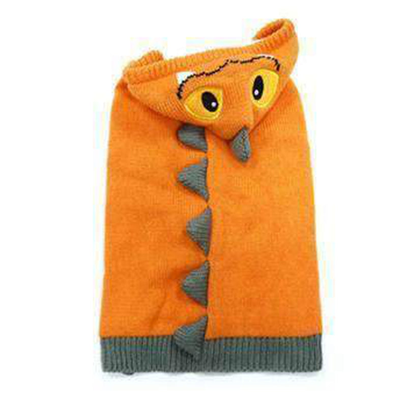 Dragon Dog Sweater - Orange, Pet Clothes, Furbabeez, [tag]