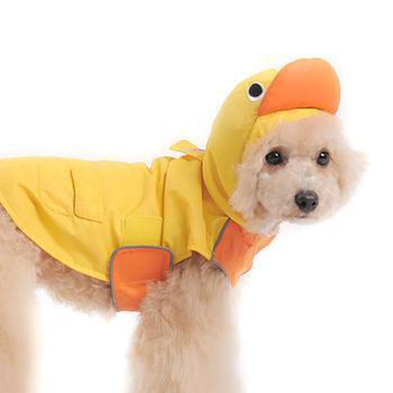 Duck Dog Raincoat by Dogo - Yellow, Pet Clothes, Furbabeez, [tag]