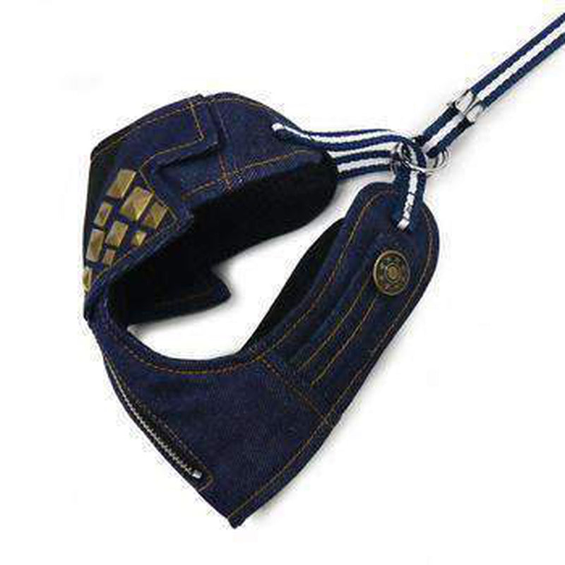 EasyGo Denim Dog Harness by Dogo, Collars and Leads, Furbabeez, [tag]