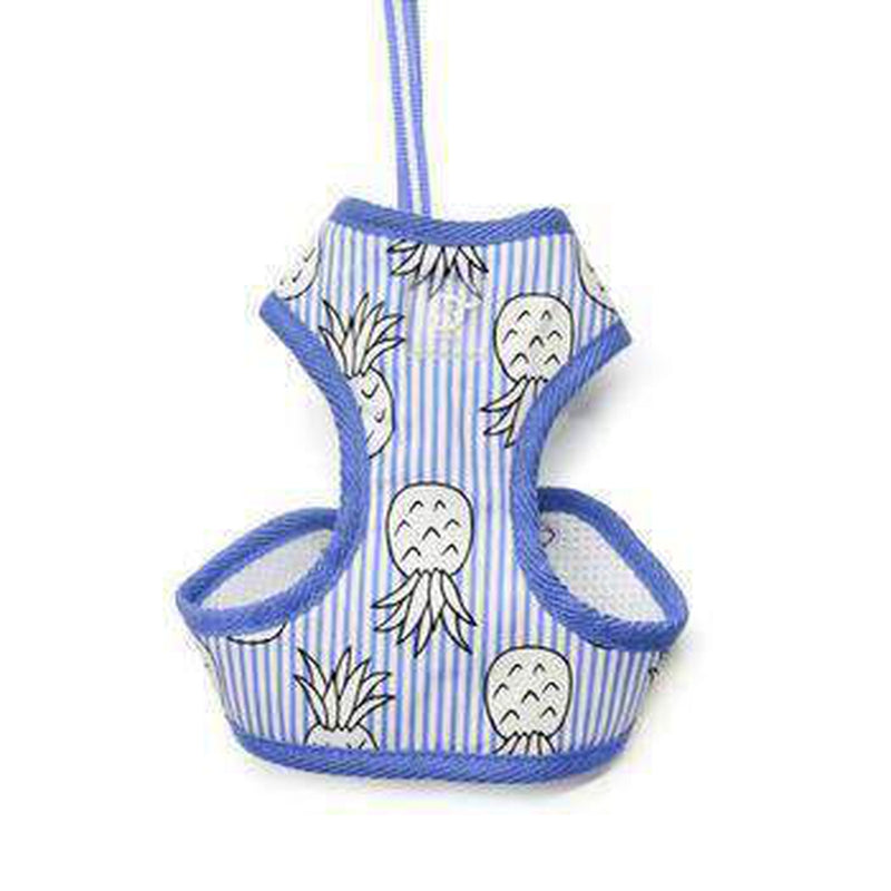 EasyGO Pineapple Dog Harness by Dogo - Blue, Collars and Leads, Furbabeez, [tag]