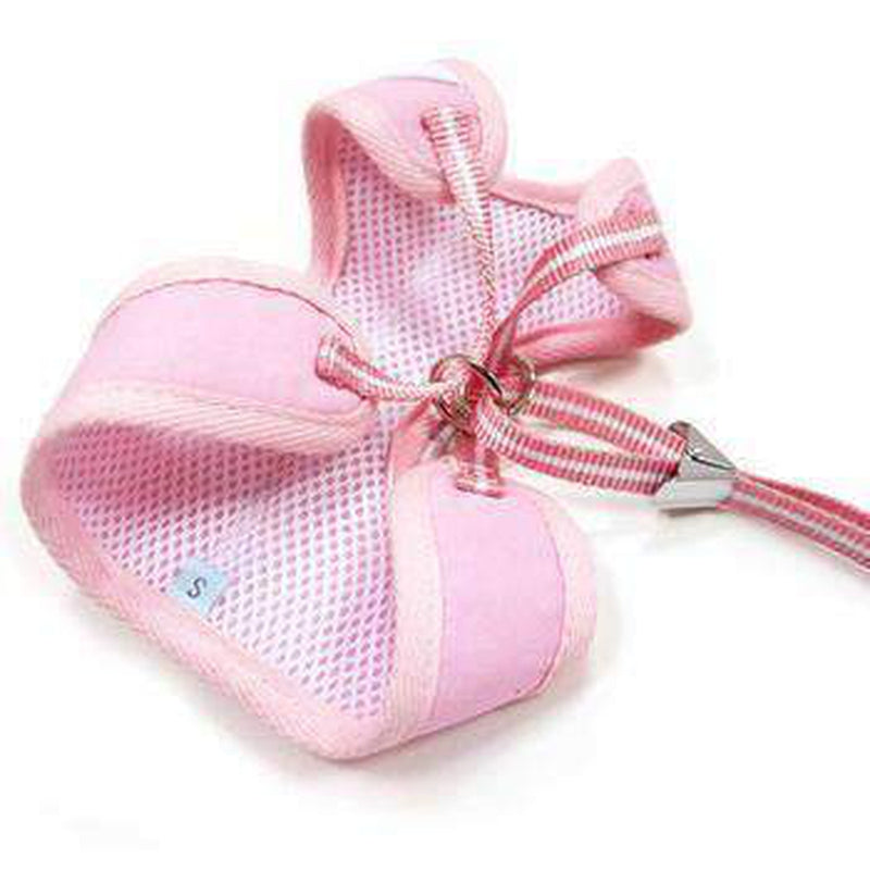 EasyGo Ruffle Dog Harness by Dogo - Pink, Collars and Leads, Furbabeez, [tag]