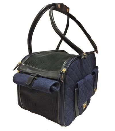 Edgar Carrier - Denim Pet Accessories Pet Life