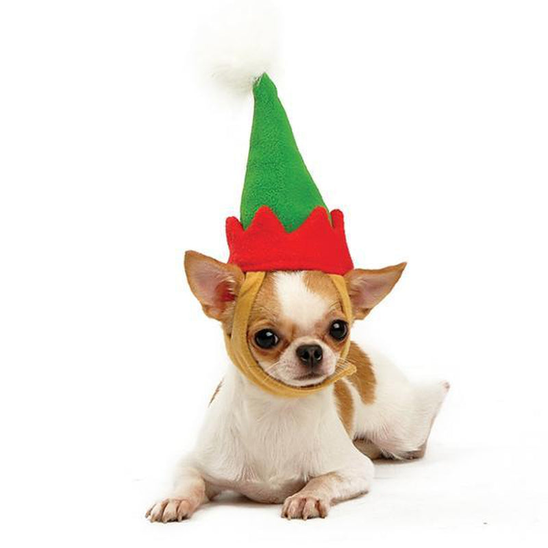 Elf Christmas Dog Hat Pet Accessories DOGO
