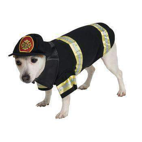 Fire Fighter Dog Halloween Costume, Pet Clothes, Furbabeez, [tag]