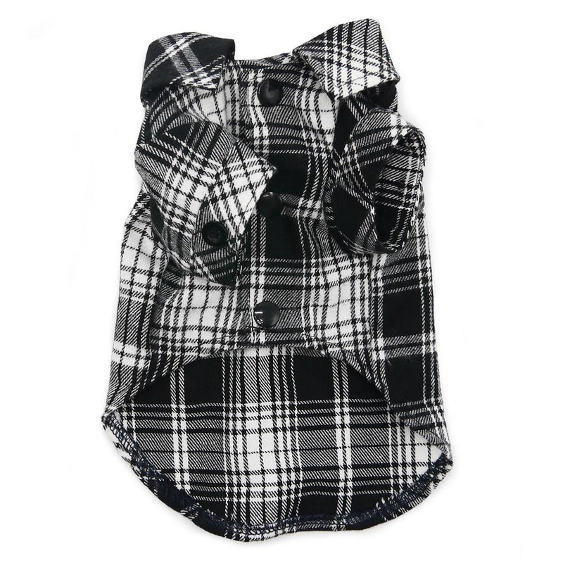 Flannel Button Down Dog Shirt, Pet Clothes, Furbabeez, [tag]