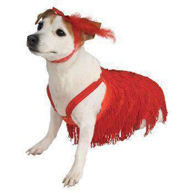 Flapper Dog Dress Costume, Pet Clothes, Furbabeez, [tag]