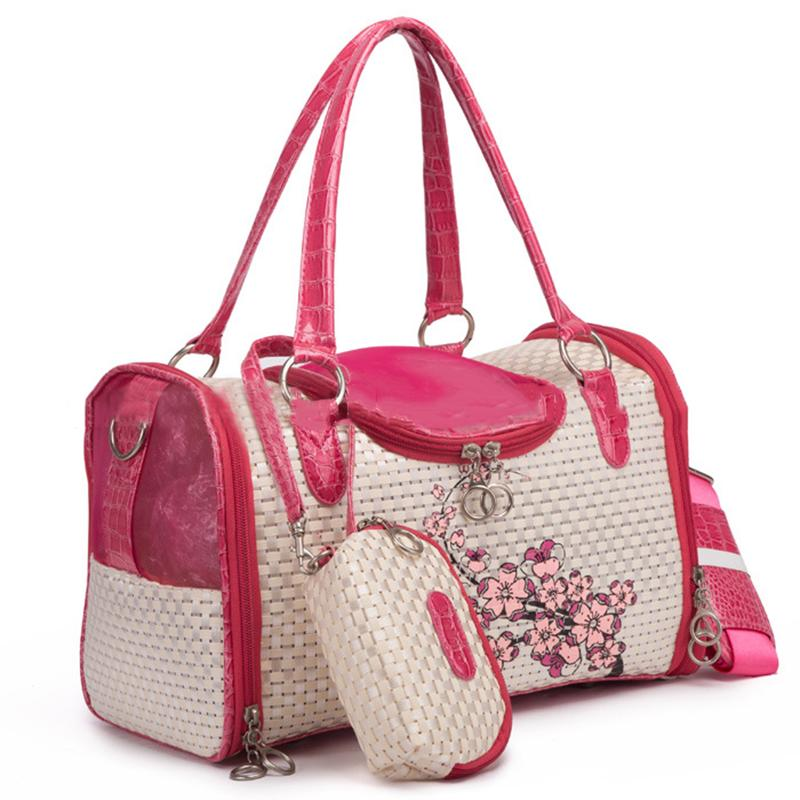 Floral Designer Dog Carrier Pet Accessories Oberlo